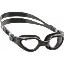Очки  для плаванья CRESSI RIGHT силикон черный, оправа черная