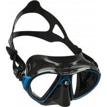 Маска Cressi AIR силикон: Черный, цвет рамки: Черный/Синий