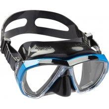 Маска Cressi BIG EYES силикон: Черный, цвет рамки: Синий