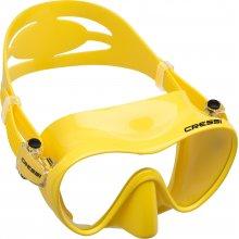 Маска Cressi F1 YELLOW (жёлтая) силикон: , цвет рамки: жёлтая