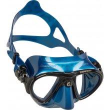 Маска Cressi NANO силикон: Синий, цвет рамки: Черный