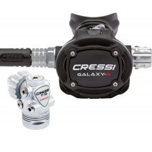 Регулятор CRESSI T10 SC CROMO GALAXY ADJUSTABLE - DIN 300 (зимний)