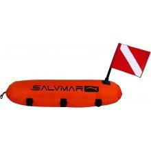 Буй SALVIMAR торпедо в чехле с двумя флагами (CMAS & ALPHA)