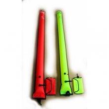 Деко-буй BS DIVER нейлон 180см * 18см с поддувом от регулятора и шланга компенсатора и клапаном сброса