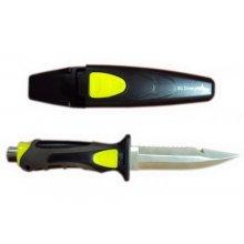 Нож BS DIVER Fox (304 ss blade) нерж.сталь в ножнах с кнопкой с ремешками
