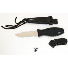 Нож BS DIVER  Mini OS (420 J2 ss) нерж.сталь в ножнах
