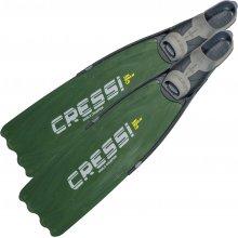 Ласты Cressi GARA MODULAR LD с закрытой пяткой цвет: Зеленый