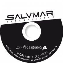Катушечный линь SALVIMAR  Дайнема 1,5ммм,мах. напряжение 120кг (метр)
