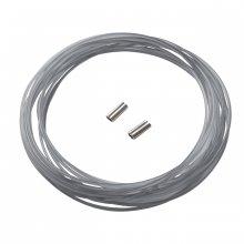Мононить SALVIMAR для арбалетов TRIPLA FORZA ø1,47mm 6m - gray + 2 зажима
